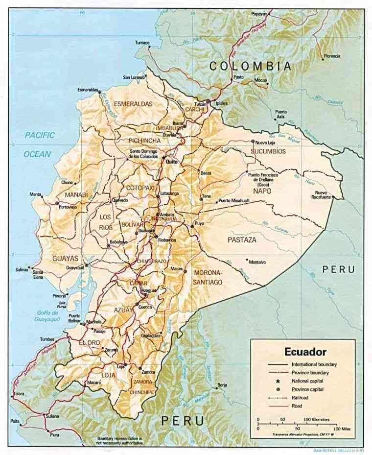 ecuador map with Mappaecuador on Itinerarios additionally Peru Physical Map 2006 together with Mappaecuador in addition Stock Afbeeldingen De Kaart Van Colombia Image27206884 together with Secrets Vilcabamba Playground Inca And Valley Longevity 002693.